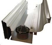 Rehausse moulurée aluminium pour gouttière blanc 9010 long.3,25m - Vérandas - Menuiserie & Aménagement - GEDIMAT