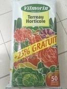 Terreau horticole 40 litres + 10 litres gratuit - Demi-tuile HP10 HUGUENOT coloris rouge - Gedimat.fr