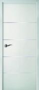 Porte seule laque gravée Griff'Inox haut.2,04m larg.93cm blanc - Adhésif d'emballage 50mmx100m havane - Gedimat.fr