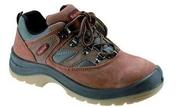 Chaussure de sécurité basses Kapriol Sioux coloris marron taille 45 - Taloche pointue en ABS 18x27cm - Gedimat.fr