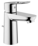 Mitigeur lavabo petit modèle BAULOOP GROHE laiton chromé - Lavabos - Vasques - Lave-mains - Plomberie - GEDIMAT