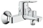 Mitigeur bain-douche BAULOOP GROHE en laiton finition chromée - Tablier baignoire d'angle ACTIVE IDEAL STANDARD acrylique ép.4mm long.1,50m blanc - Gedimat.fr