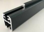 Profil de finition alu 3 en 1 gris texturé dim.20x25x1800mm - Olive laiton bicone pour tube diam.14mm - Gedimat.fr