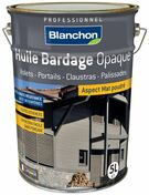 Huile bardage 5L pin brut - Traitements curatifs et pr�ventifs bois - Couverture & Bardage - GEDIMAT