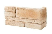 Chaine d'angle long.31cm larg.10cm haut.15/7,5cm coloris naturel - Briques et Plaquettes de parement - Aménagements extérieurs - GEDIMAT