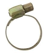 Collier de serrage acier bichromaté à bande ajourée larg.8mm diam.à serrer 32 à 52mm en sachet de 2 pièces - Colliers de serrage - Plomberie - GEDIMAT