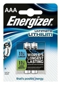 PILE AAA L92 1.5V LITHIUM ULTIMATE ENERGIZER B2 - Piles - Torches - Electricité & Eclairage - GEDIMAT