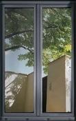 Film adhésif vitrage de discrétion haut.90cm long.2,50m - Tablette Pin Maritime rustique panneautée 1 bord arrondi 21x450mm long.2,40m - Gedimat.fr