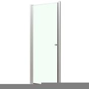 Porte pivotante MARINE haut.195cm long.80cm profil�s blanc verre transparent - Portes - Parois de douche - Salle de Bain & Sanitaire - GEDIMAT
