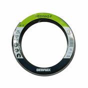 Câble électrique méplat H03VHH2F section 2x0,75mm² coloris noir en bobine de 5m - Fils - Câbles - Electricité & Eclairage - GEDIMAT
