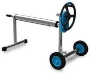 Enrouleur téléscopique avec tube inox pour bâche de piscine - Accessoires et Equipements - Aménagements extérieurs - GEDIMAT