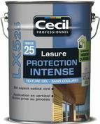Lasure bois protection intense gel LX525 chêne 5L - Peintures bois microporeuse - Aménagements extérieurs - GEDIMAT