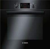 Four multifonction pyrolyse BOSCH 65L coloris noir - Vantail coulissant chêne cendré/miroir argent larg.780mm haut,2,50m profil gris - Gedimat.fr