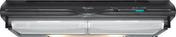 Hotte casquette WHIRLPOOL 60cm coloris noir - Hottes - Cuisine - GEDIMAT