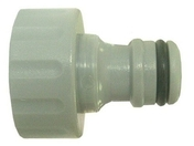 Nez de robinet pour raccord automatique en plastique filetage femelle 20x27 - Tubes et Raccords d'alimentation eau - Plomberie - GEDIMAT