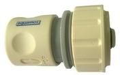 Raccord rapide AQUASTOP pour tuyau diam.15mm - Tuile en terre cuite CANAL 40 et POSIFIX 40 coloris brun rustique - Gedimat.fr