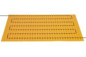 Natte pour Sol Tempéré Electrique (pose collée) Schlüter®-DITRA-HEAT PLAQUE 0,78 m² - Chauffage au sol - Chauffage & Traitement de l'air - GEDIMAT