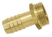 Embout laiton cannelé mâle 26x34 pour tuyau diam.25mm - Tubes et Raccords d'alimentation eau - Plomberie - GEDIMAT