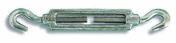 Tendeur 2 crochets acier zingué charge de travail indicative 130 kg pour câble diam.8mm - Chaines - Cordes - Arrimages - Quincaillerie - GEDIMAT