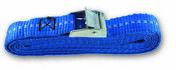 Sangle polypropylène avec came à griffes tension maximale d'utilisation 71 kg larg.25mm Long.2,50m coloris Bleu - Chaines - Cordes - Arrimages - Quincaillerie - GEDIMAT