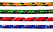 Corde polypropylène/polyester tressée diam.9mm Long.7,50m coloris assortis - Chaines - Cordes - Arrimages - Quincaillerie - GEDIMAT