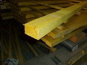 Lambourde Sapin/Epicéa section 40x60mm long.4,00m - Dalle de particules ép.19mm larg.0,60m long.2,06m - Gedimat.fr