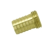 Raccord en laiton cannelé pour tuyau diam.19mm avec filetage mâle 20x27 - Tuyaux d'arrosage - Plein air & Loisirs - GEDIMAT