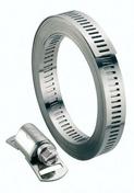 Kit collier de serrage en acier à bande ajourée long.3m larg.8mm avec 8 têtes - Colliers de serrage - Plomberie - GEDIMAT
