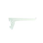 Console simple long.40cm entraxe 5cm blanc - Arêtier à emboîtement coloris argentique - Gedimat.fr