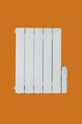 Radiateur fluide CALO UNO 1400W long.639mm haut.569mm haut.98mm blanc - Radiateur à fluide caloporteur BACHATA Vertical 1000W haut.120cm larg.42cm prof.11cm blanc - Gedimat.fr