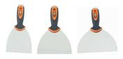 Lot de couteaux à enduire avec embout de vissage - Outillage du plaquiste et plâtrier - Outillage - GEDIMAT