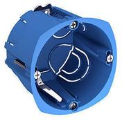 Boite d'encastrement à sceller simple profondeur diam.67mm - Plinthe MDF prépeinte arrondie section 10x98mm long.2,44m - Gedimat.fr