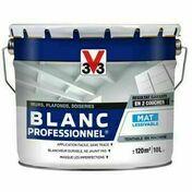 Peinture acrylique blanc professionnel mat 10L - Doublage isolant plâtre + polystyrène PREGYSTYRENE TH32 ép.13+60mm larg.1,20m long.2,60m - Gedimat.fr