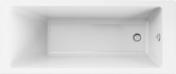 Baignoire rectangulaire en acrylique STRADA larg.75cm long.170cm - Baignoires - Tabliers - Salle de Bains & Sanitaire - GEDIMAT
