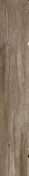 Carrelage pour sol en gr�s c�rame �maill� rectifi� DAVINCI, larg.20cm long.120cm coloris brun - Carrelages sols int�rieurs - Cuisine - GEDIMAT