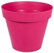 Pot TOSCANE rond diam.80cm haut.66cm 192L rose fushia - Jardinières - Poteries - Plein air & Loisirs - GEDIMAT