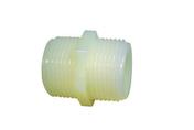 Mamelon polyamide double mâle 26x34 - Tubes et Raccords d'alimentation eau - Plomberie - GEDIMAT