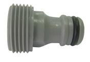 Adaptateur en plastique pour raccord automatique avec filetage mâle 20x27 - Tuyaux d'arrosage - Plein air & Loisirs - GEDIMAT