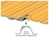 Joint Etanchéité Longitudinale pour bac acier, section 18x4, forme U, condiam.120ml - Poutre en béton précontrainte LBI larg.20cm haut.50cm long.2,70m - Gedimat.fr