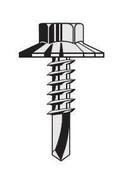 Vis TH P5 ZN bardage, 6,3x25 + Rondelle, fixation bardage sur panne mince, Naturel , 100p - Bacs acier - Couverture & Bardage - GEDIMAT