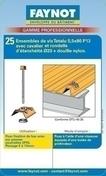 Fixation bac Cobacier sur panne acier ép.5 à 13mm, Blister de 25 pièces, RAL 8012 Rouge Tuile - Bacs acier - Couverture & Bardage - GEDIMAT