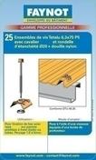 Fixation bac Nergal sur panne acier ép.1,5 à 5mm, Blister de 25 pièces, RAL 8012 Rouge Tuile - Bacs acier - Couverture & Bardage - GEDIMAT