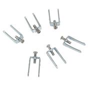 Griffes métal zingué de fixation CASUAL vendu par 6 - Interrupteurs - Prises - Electricité & Eclairage - GEDIMAT