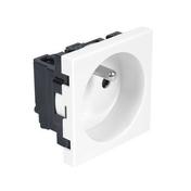 Mécanisme prise 2P+T blanc CASUAL - Interrupteurs - Prises - Electricité & Eclairage - GEDIMAT