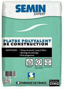 Plâtre EXPERT POLYVALENT - sac de 25kg - Plâtres en poudre - Matériaux & Construction - GEDIMAT