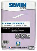Plâtre EXPERT EXPRESS - sac de 25kg - Plâtres en poudre - Matériaux & Construction - GEDIMAT