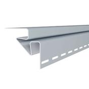 Angle intérieur pour bardage vinyl ép.26mm larg.82mm long.2,90m Gris clair - Clins - Bardages - Matériaux & Construction - GEDIMAT