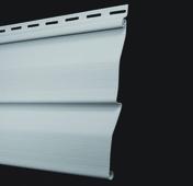 Bardage Vinyl ép.14mm larg.205mm utile (240 hors tout) long.utile 2,86m utile (2900 hors tout) Gris clair - Peinture radiateur JULIEN bidon de 2,50 litres blanc satiné - Gedimat.fr