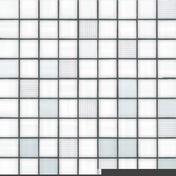 Décor MOSAICO pour mur en faïence PRIVILEGE, trame de 31,6x31,6cm coloris white - Meuble de cuisine AGATHA bas 1 tiroir 1 porte haut.70cm larg.40cm + pieds réglables de 12 à 19cm - Gedimat.fr