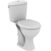 WC surélevé sortie horizontale ASTOR en porcelaine haut.73,55cm larg.68cm long.39,5cm blanc - WC - Mécanismes - Salle de Bains & Sanitaire - GEDIMAT